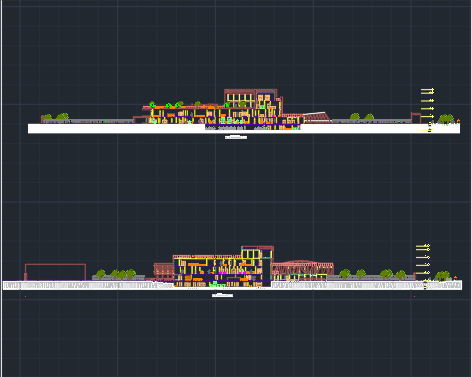 پروژه بیمارستان کامل طرح 4 معماری