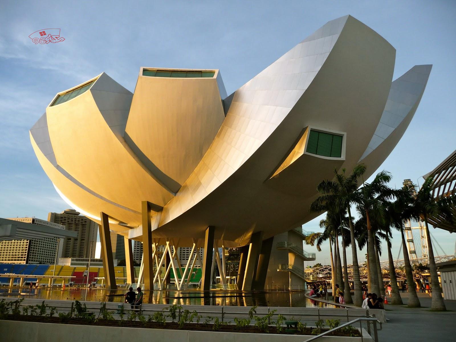 تحلیل کامل موزه علم و هنر سنگاپور