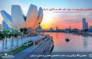 پاورپوینت تحلیل موزه هنر علمی سنگاپور با پلان ها