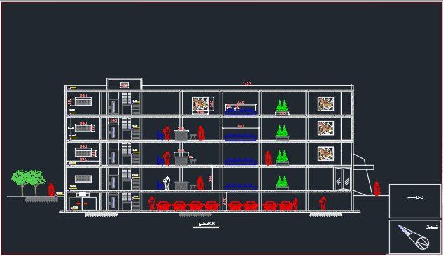 پروژه آماده معماری بانک
