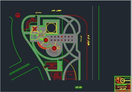 نقشه فرهنگسرای مهر جوان