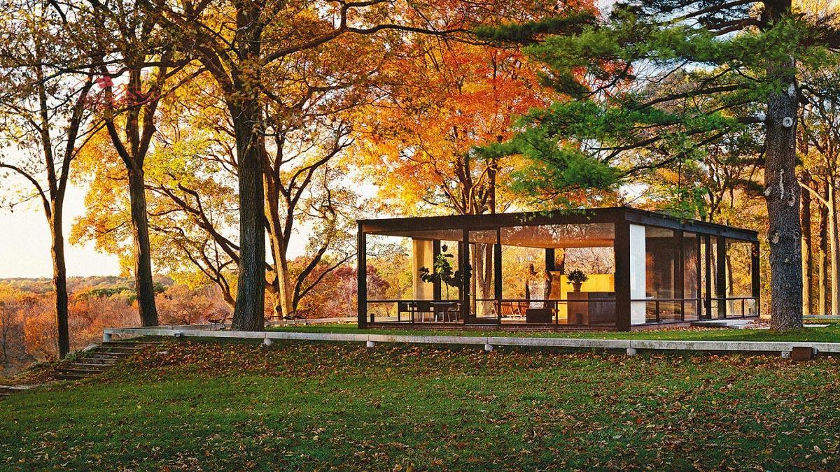 خانه شیشه ای جانسون