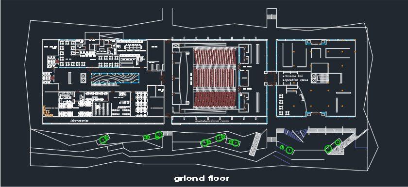نقشه پژوهشگاه انرژی های نو
