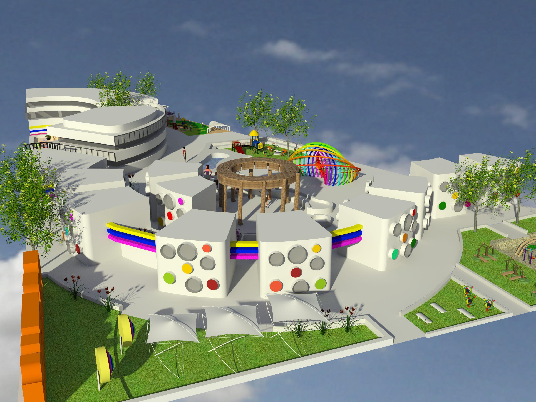 پروژه معماری خانه کودکان بی سرپرست با مدارک کامل