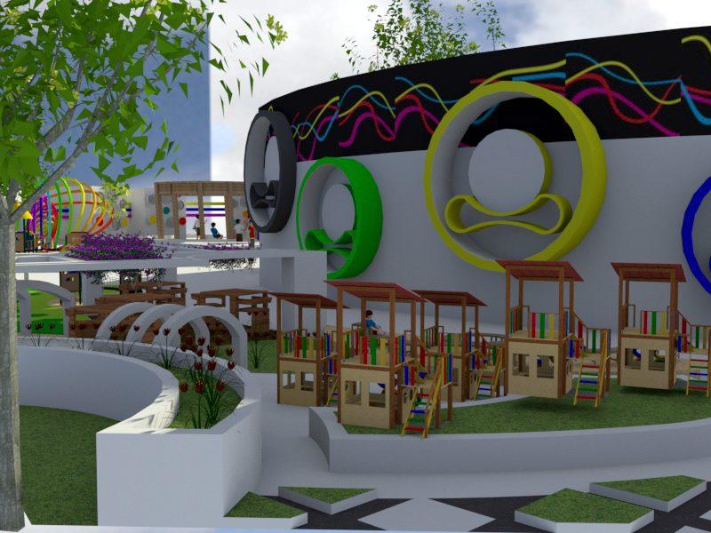 پروژه معماری خانه کودکان بی سرپرست با تمام مدارک