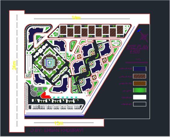 نقشه آپارتمان کامل
