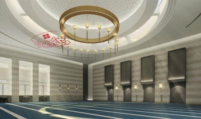 طرح کامل مسجد