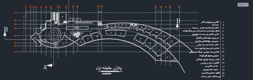پروژه آماده معماری دانشکده هنر و معماری