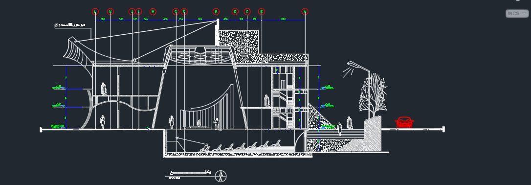 نقشه کامل دانشکده هنر و معماری