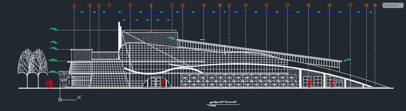 نقشه دانشکده هنر و معماری کامل