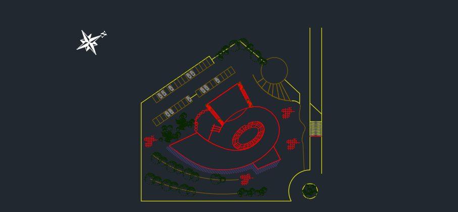 نقشه کامل برج اداری تجاری