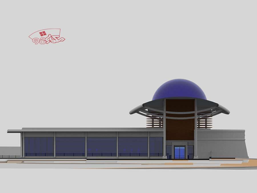 طرح آماده معماری گالری هنر