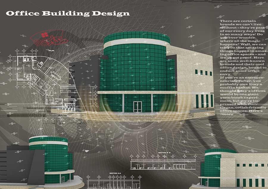 طراحی دفتر اداری