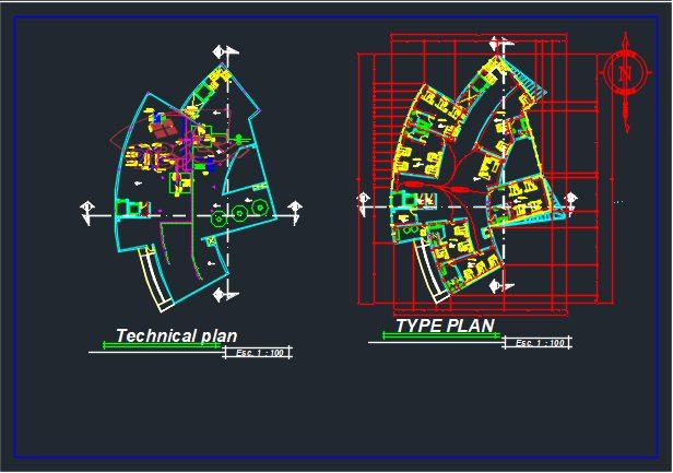 پروژه طراحی بیمارستان طرح 4