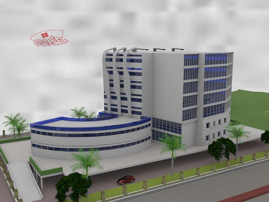 طراحی بیمارستان طرح 4