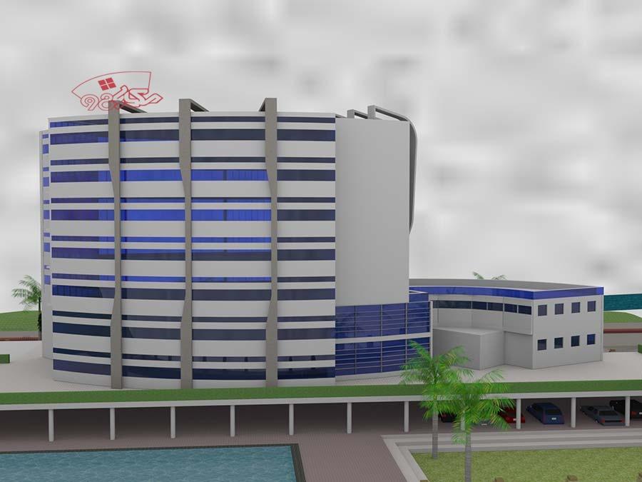 پروژه بیمارستان طرح 4 کامل