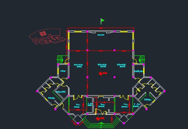 پروژه طراحی مسجد زیبا