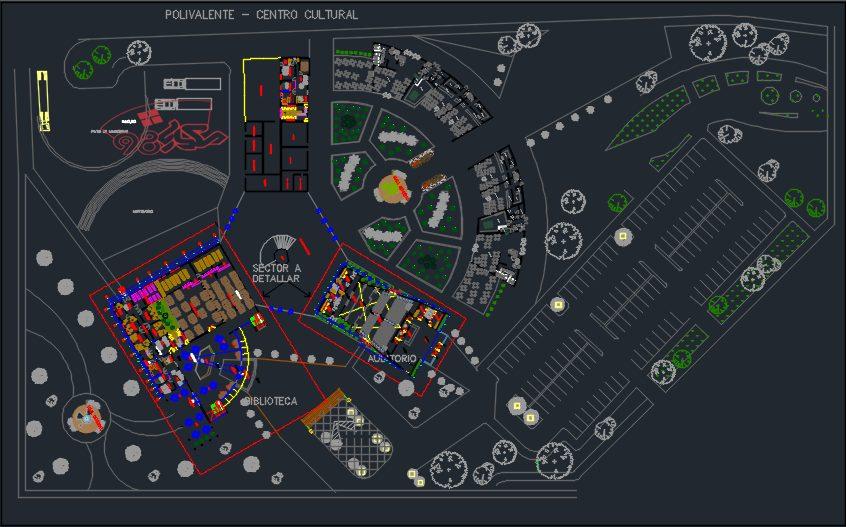 نقشه کامل موزه چند منظوره فرهنگی