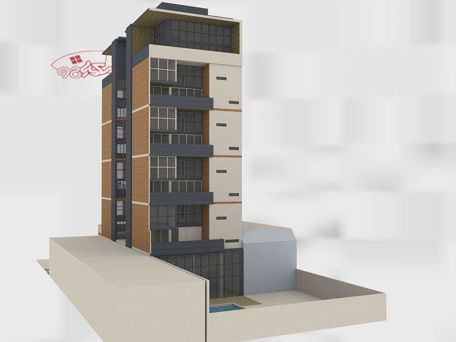 طرح خوابگاه دانشجویی آپارتمانی