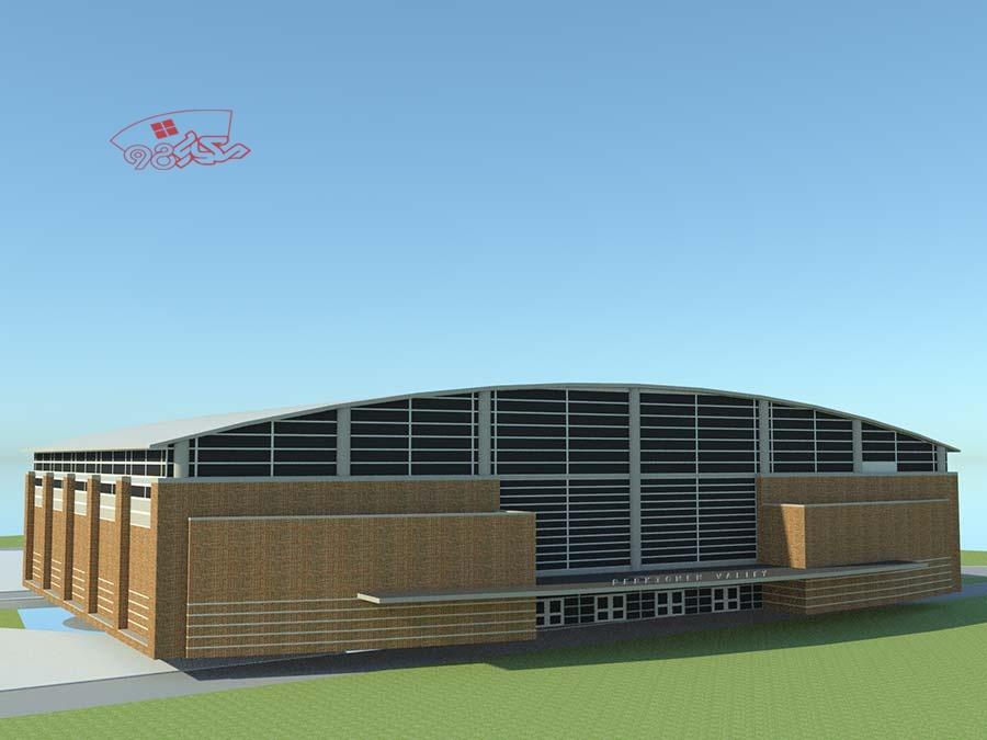 طرح معماری آماده هایپر مارکت