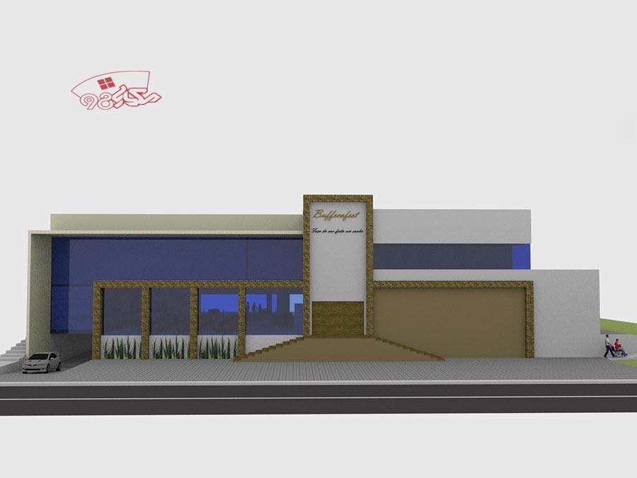 پروژه طراحی مجموعه اقامتی