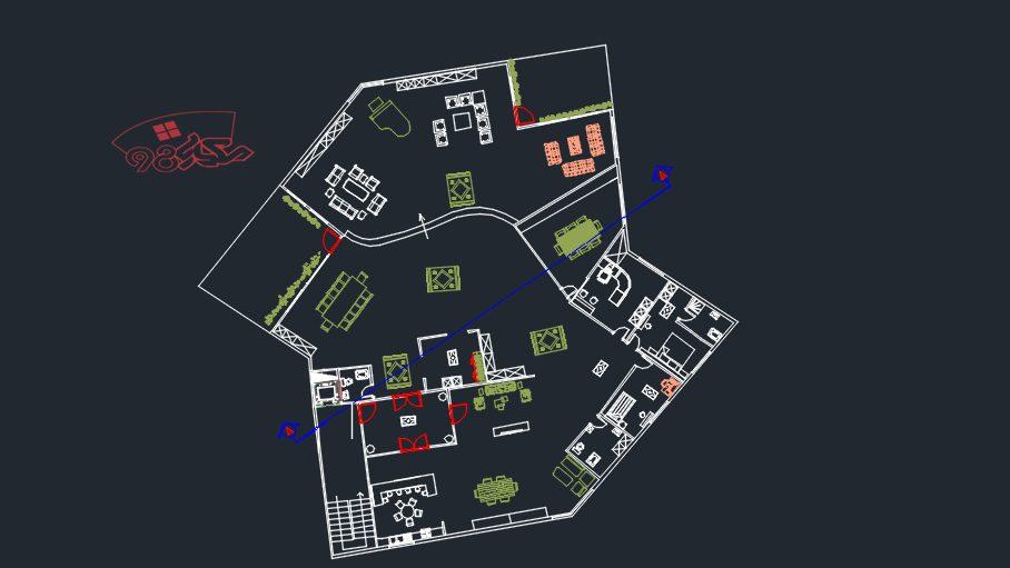 پروژه کامل طراحی شهرک مسکونی