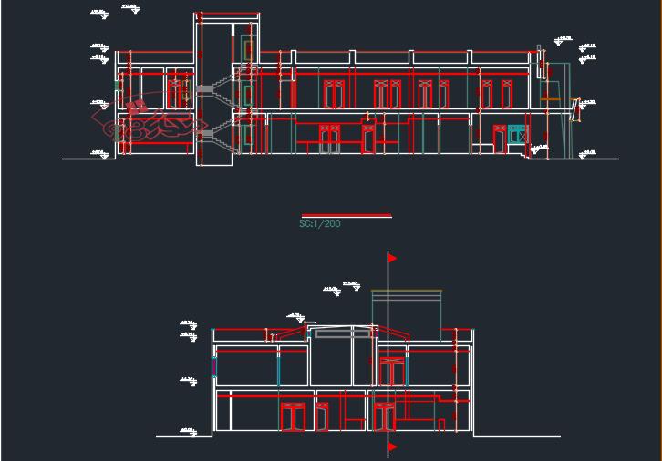 پروژه کامل طراحی مرکز درمانی