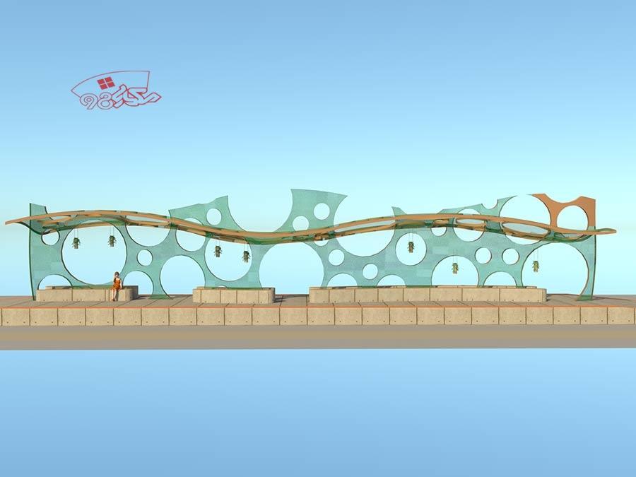 طراحی ایستگاه اتوبوس