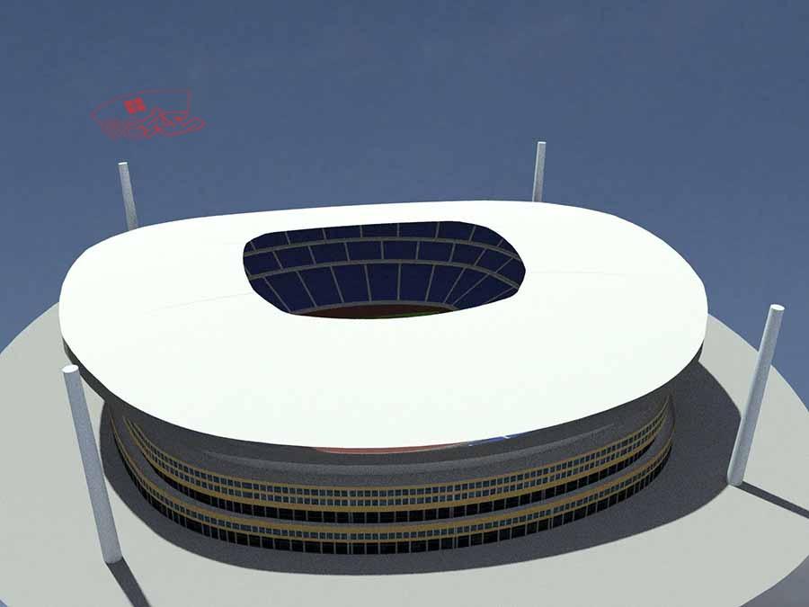 طراحی استادیوم ورزشی