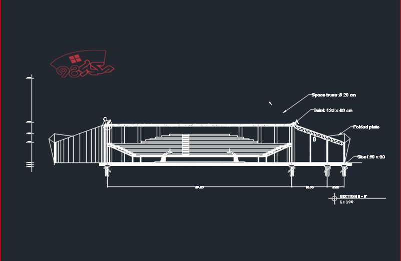طراحی پروژه استادیوم ورزشی