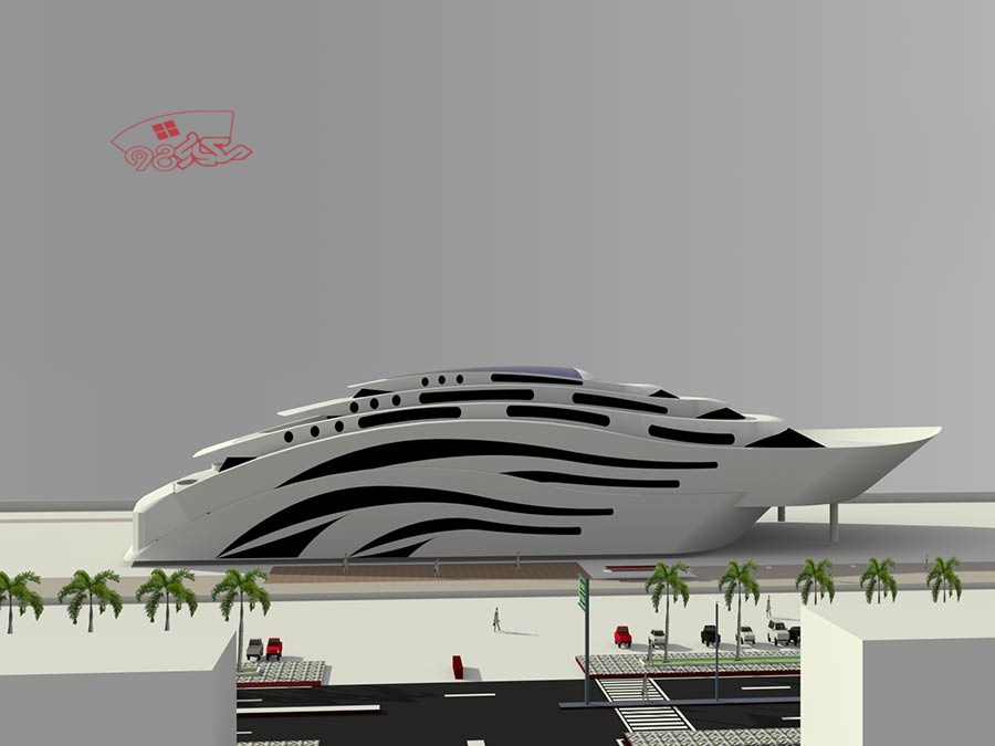 پروژه کامل طراحی رستوران مدرن