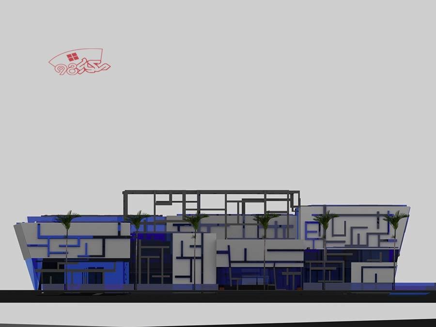 طرح مرکز تحقیقاتی و نمایشگاهی