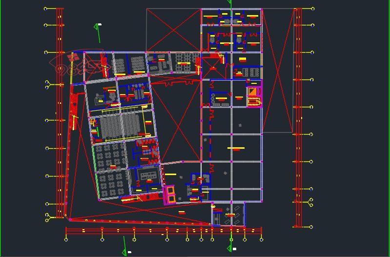 طرح کامل مرکز تحقیقاتی و نمایشگاهی
