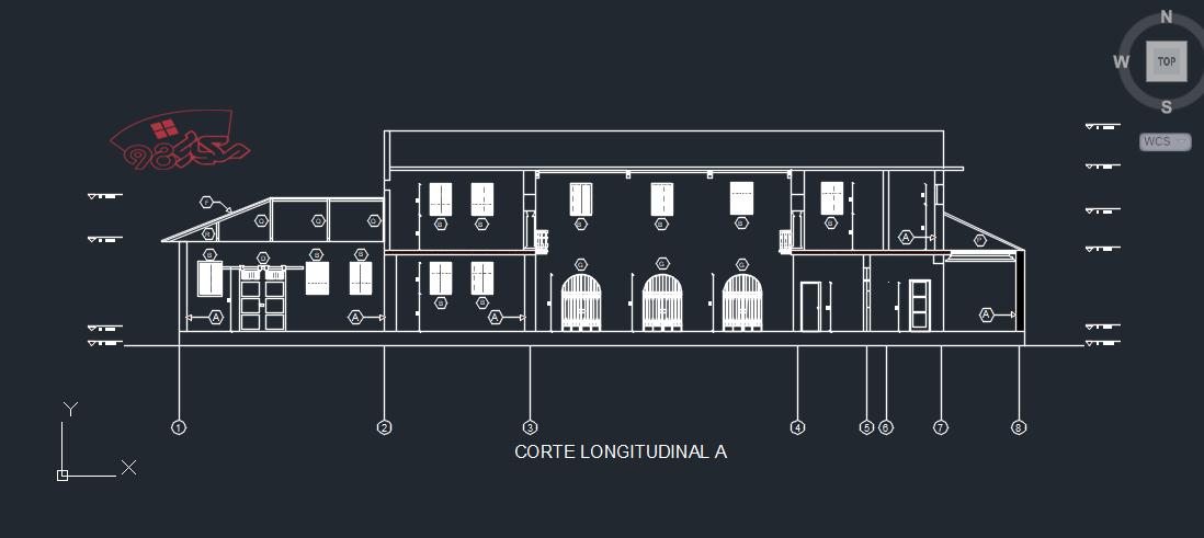 پروژه طراحی ایستگاه راه اهن کامل