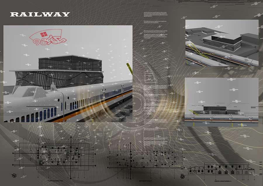 پروژه طراحی ایستگاه راه اهن