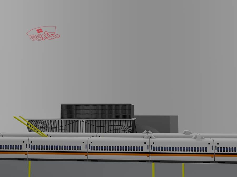 پروژه کامل طراحی ایستگاه راه اهن