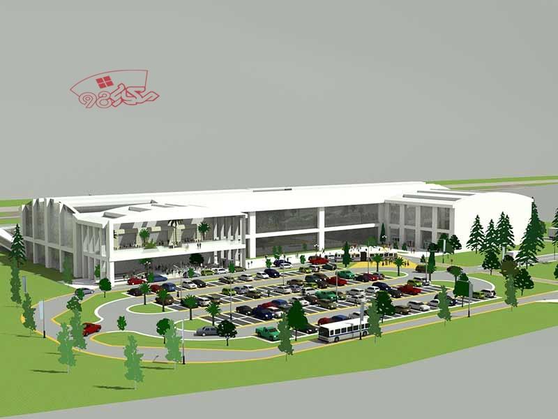 پروژه طراحی فرودگاه کامل
