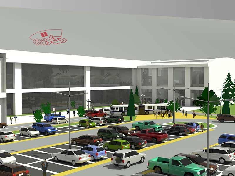 پروژه فرودگاه با جزئیات کامل