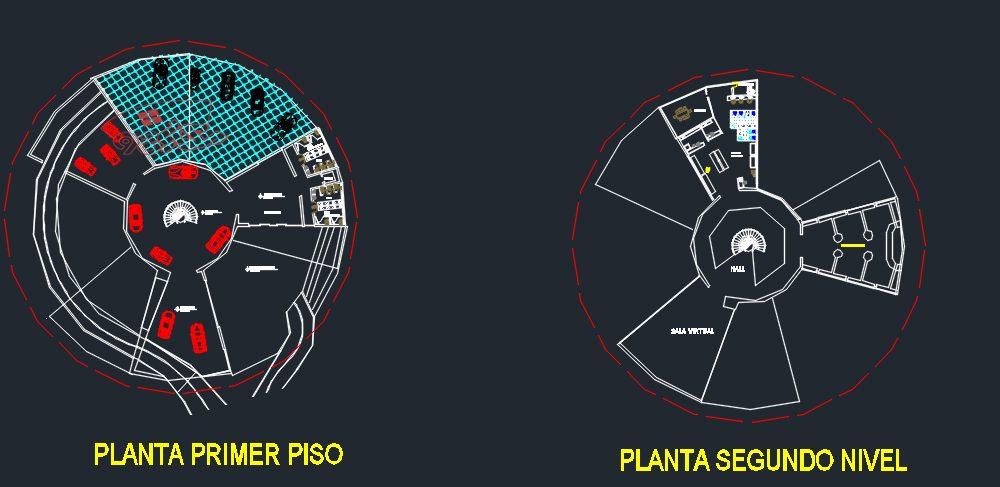 پروژه طراحی موزه ماشین