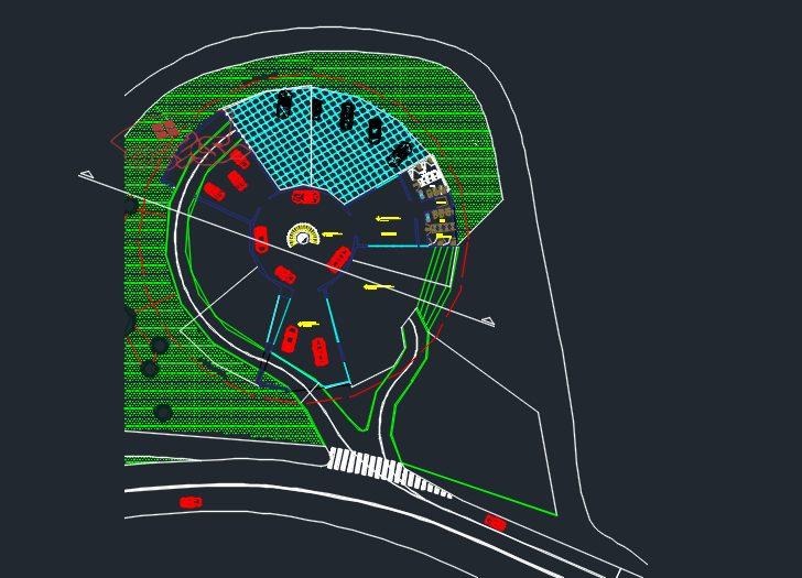 طراحی پروژه موزه ماشین