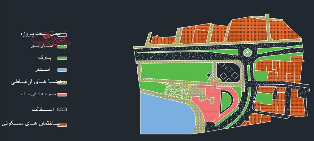 طرح معماری شهر کتاب