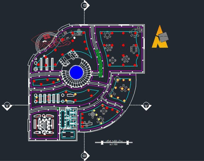 طرح آماده معماری شهر کتاب
