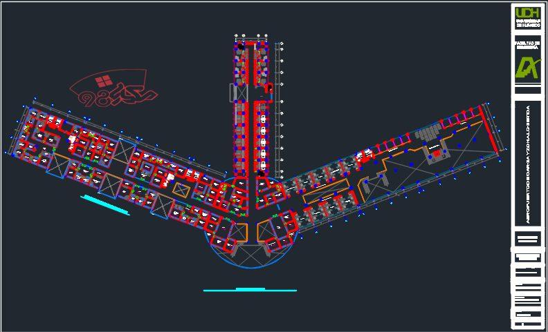 طراحی فرودگاه با جزئیات کامل