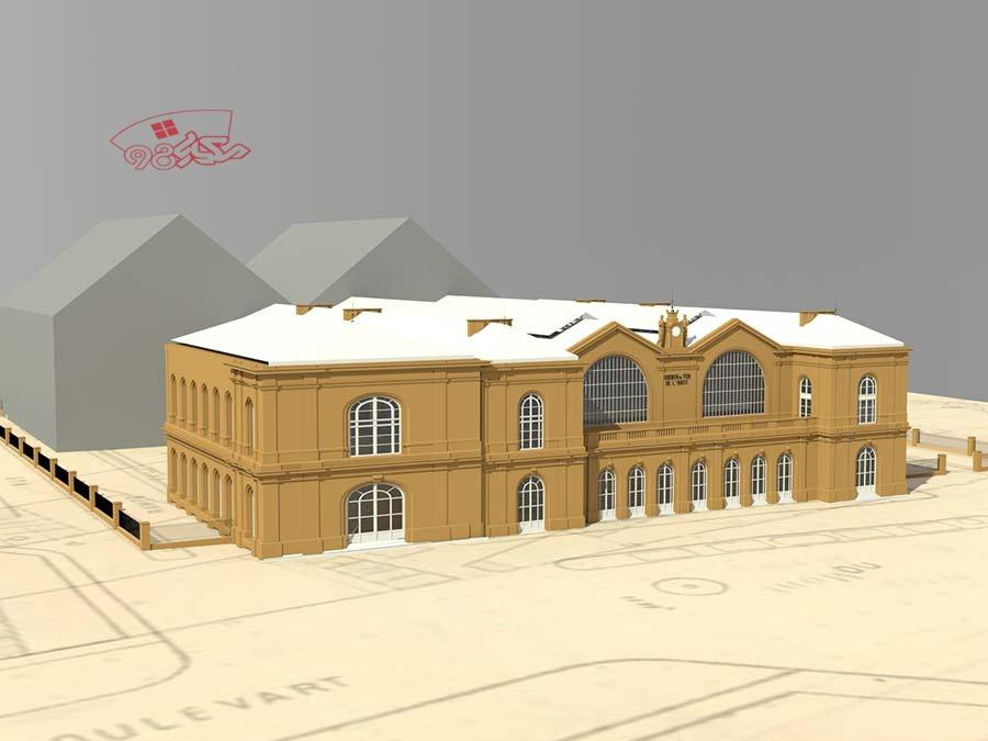 پروژه طراحی شهرداری