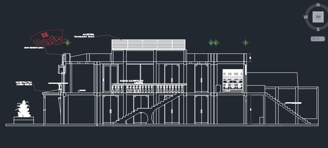 پروژه کامل طراحی شهرداری