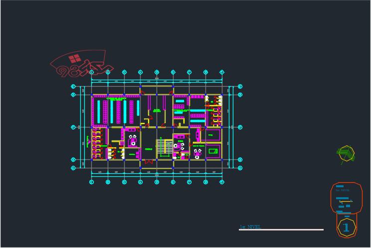 طرح معماری مرکز ورزشی