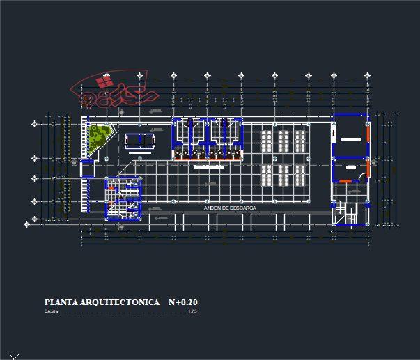 طرح دانشجویی معماری ترمینال مسافربری