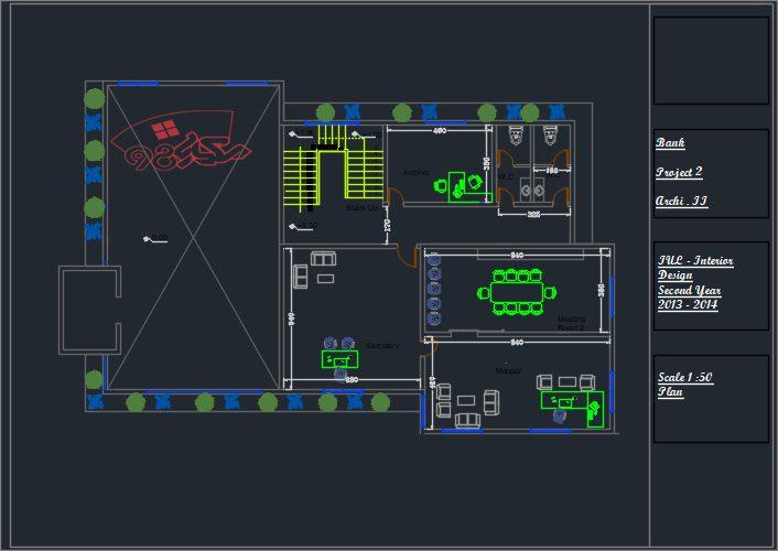 طراحی پروژه بانک