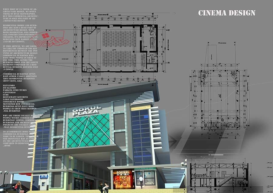 طراحی سینما با جزئیات کامل