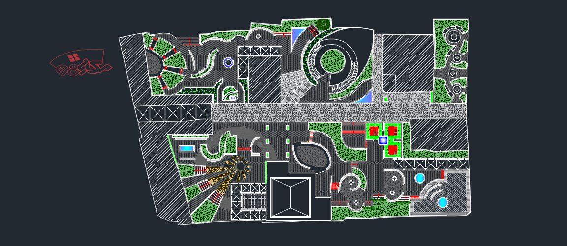 طراحی پروژه منظر